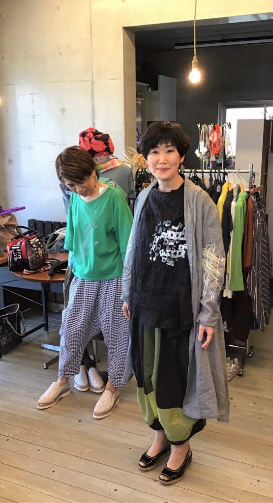 コーディネート提案会inトリトラ(2019.4)② 慈雨、もゆる編