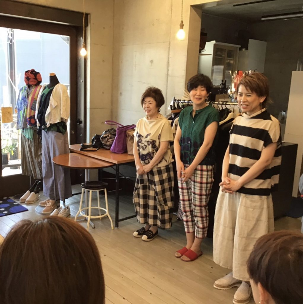 コーディネート提案会inトリトラ(2019.4)①